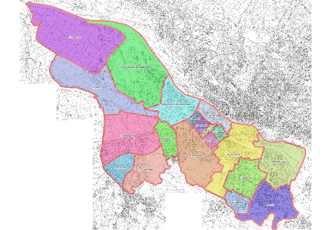 Wahlbezirke Bremen